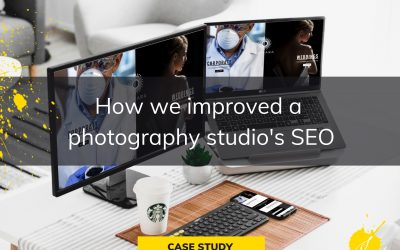 How we improved a photography Studio's SEO by redesigning their website.